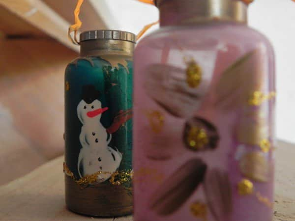 Christmas Ornament On Medication Bottle 2 • Do-It-Yourself Ideas