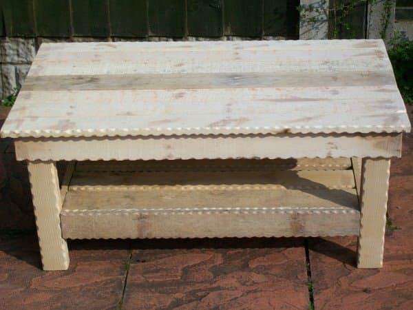 Pallet Coffee Table 1 • Recycled Furniture