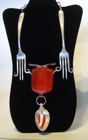 Original Recycled Jewelry Accessories Upcycled Jewelry Ideas