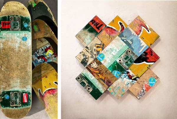 Untitled Art Tiles 3 • Recycled Art