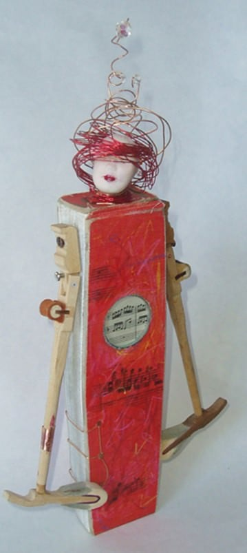 Bibliophile 1 • Recycled Art