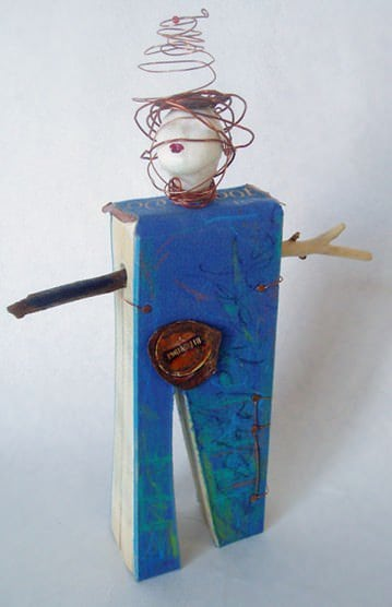 Bibliophile 2 • Recycled Art