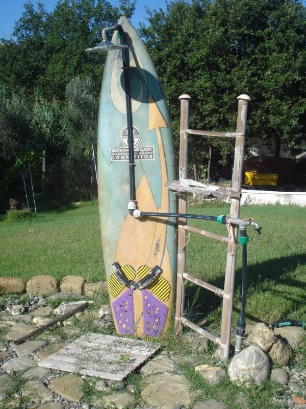 Garden Shower for Surfers 1 • Do-It-Yourself Ideas