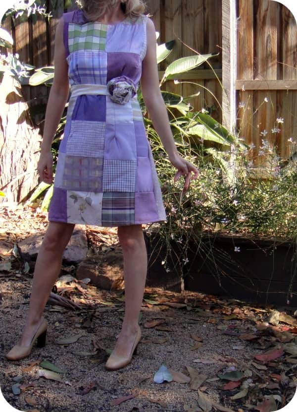 Upholstery Patch Dress 1 • Clothing