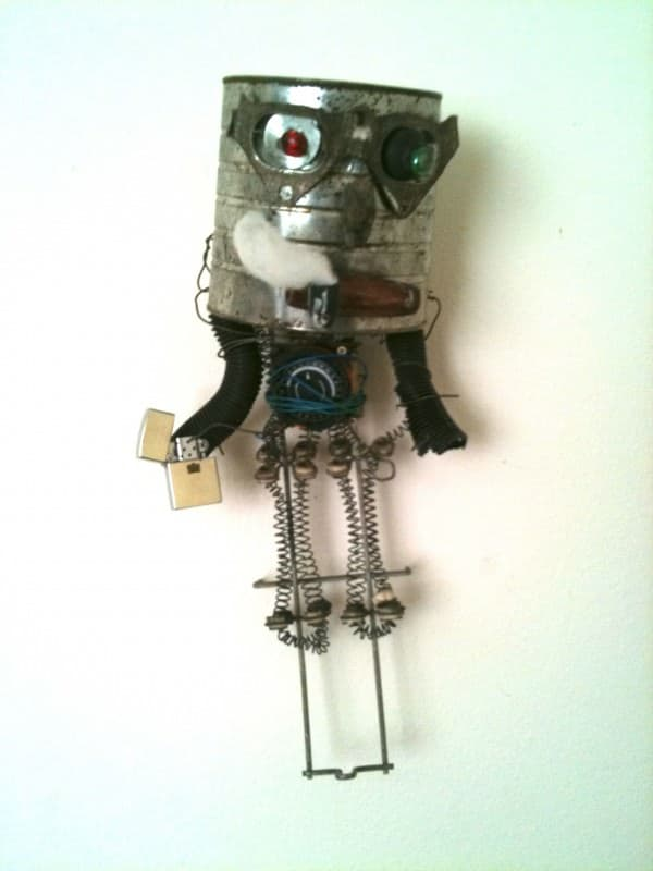 Lost Then Found Out Sculpture 1 • Recycled Art