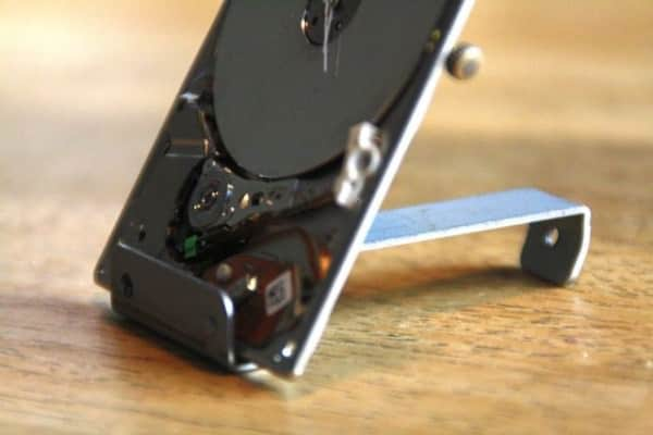 Ipod Hard Drive Turned Into Tiny Clock 3 • Recycled Electronic Waste