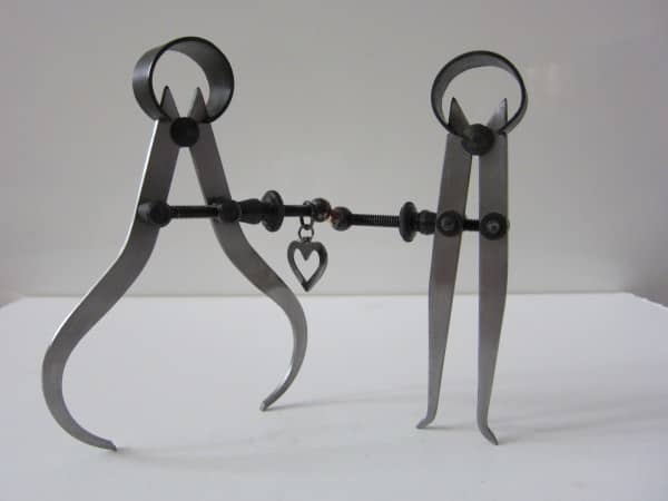 Lovely Caliper Couple 1 • Recycled Art