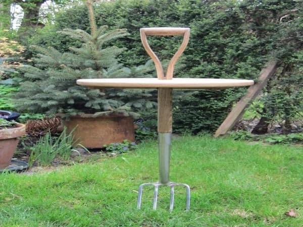 Garden Fork Table 1 • Recycled Furniture