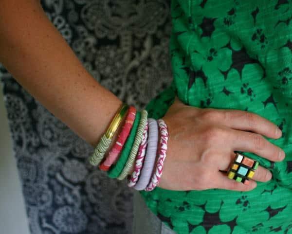 T-shirt Bracelets 1 • Accessories