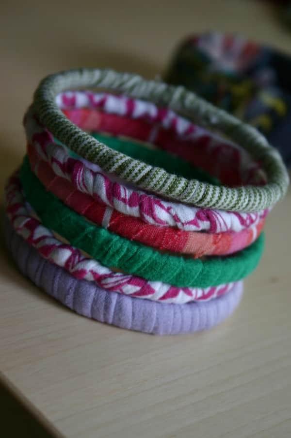 T-shirt Bracelets 3 • Accessories