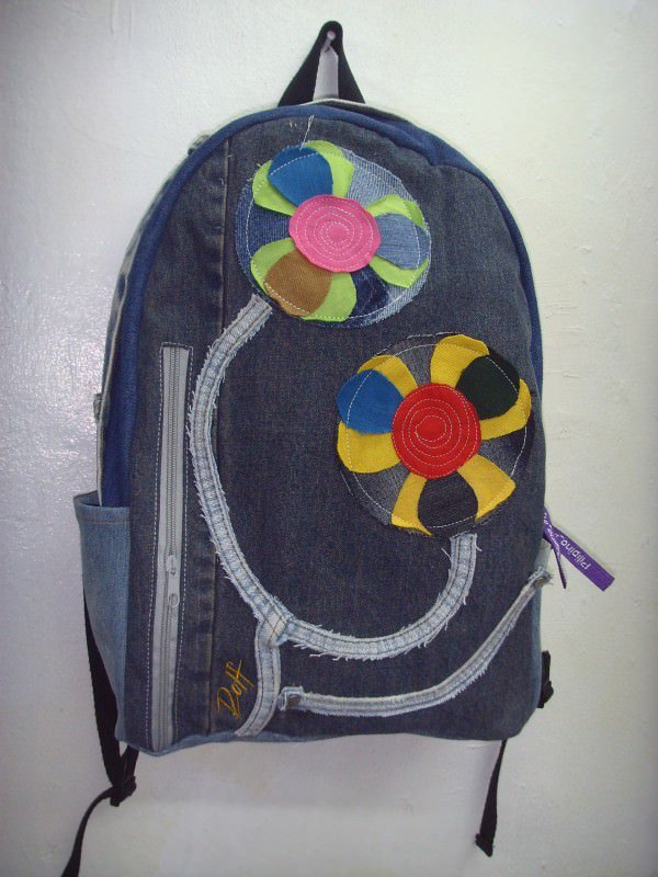 Old Jeans To Backpacks 2 • Clothing