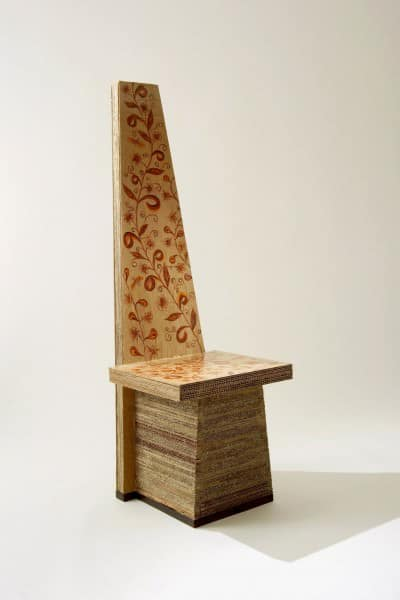 Cardboard Sculptures 2 • Recycled Cardboard
