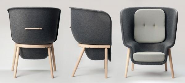 Pod by Benjamin Hubert for De Vorm 2 • Recycled Furniture