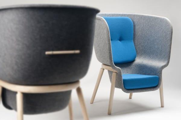 Pod by Benjamin Hubert for De Vorm 3 • Recycled Furniture