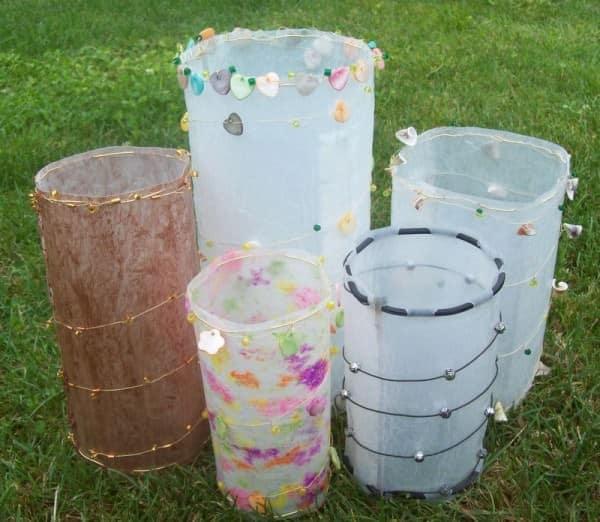 Fused Plastic Luminaries 1 • Do-It-Yourself Ideas