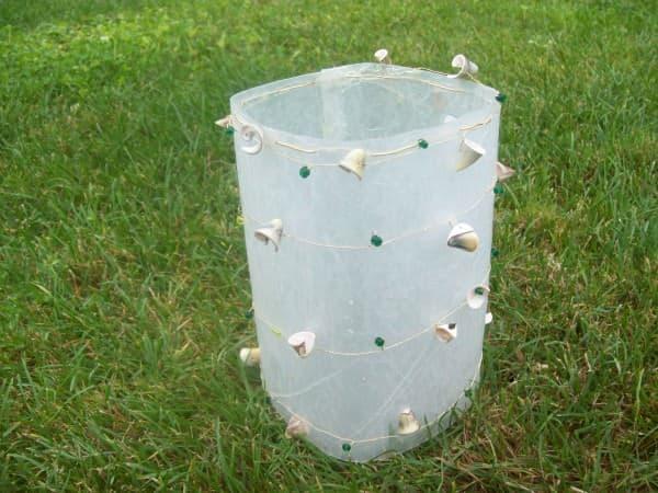 Fused Plastic Luminaries 3 • Do-It-Yourself Ideas
