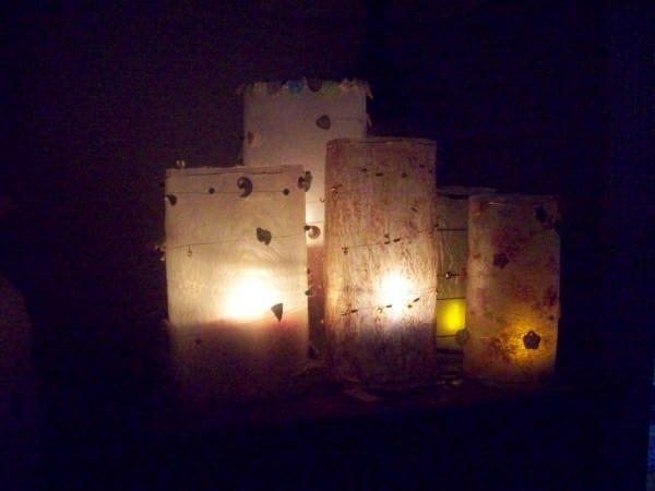 Fused Plastic Luminaries 2 • Do-It-Yourself Ideas