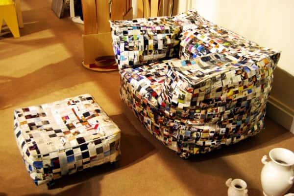 Sofa Away 1 • Recycled Art