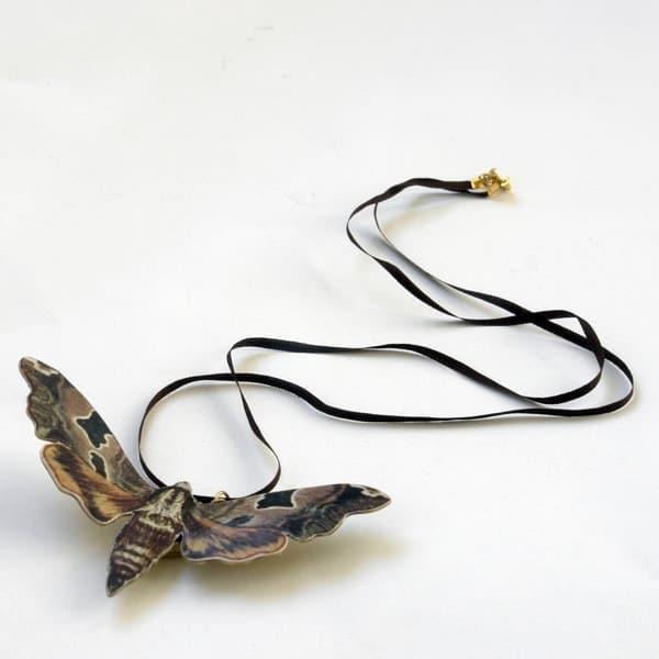 The Aviary_Moth Locket