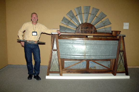 Windmill bed at museum