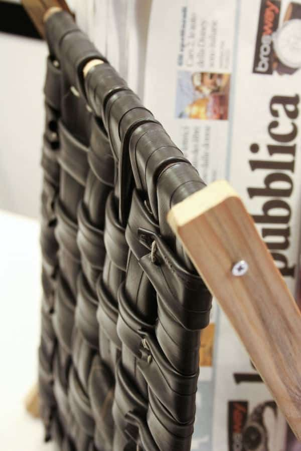 Inner Tubes Magazine Rack 3 • Recycled Furniture