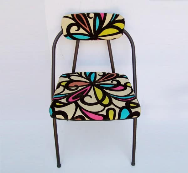 Vintage Folding Chair Refreshed 1 • Recycled Furniture