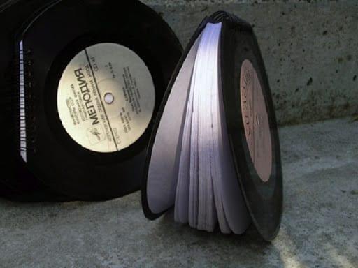 45t Vinyl Book 2 • Recycled Vinyl