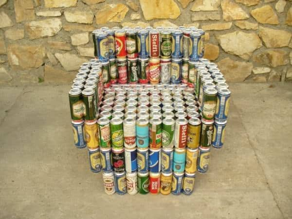 Beer Cans Into Furniture 1 • Do-It-Yourself Ideas