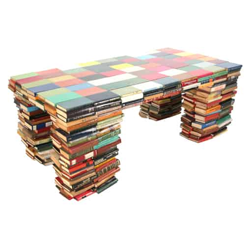 Books Table 1 • Recycled Furniture