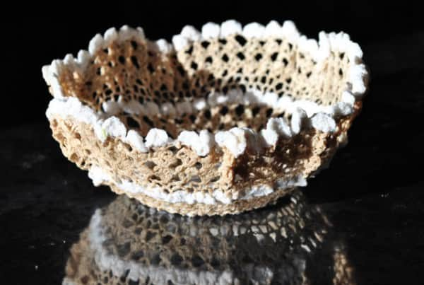 Crochet Doily Bowls 1 • Clothing