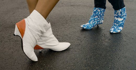 Dacca Boots Made of Plastic Bags Accessories Recycled Plastic