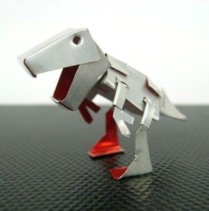 Dinosaur Can 1 • Recycled Packaging
