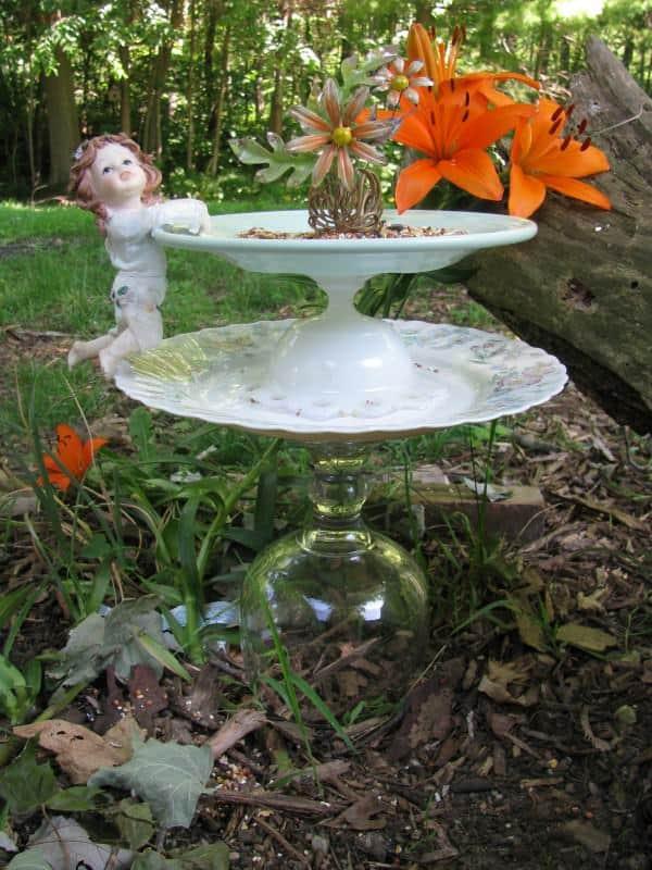 Garden Art 3 • Recycled Art