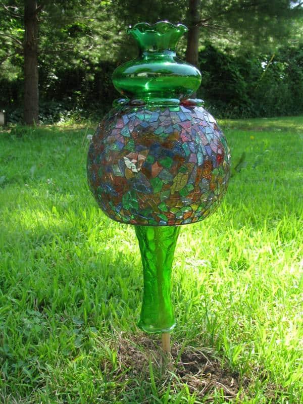 Garden Art 1 • Recycled Art