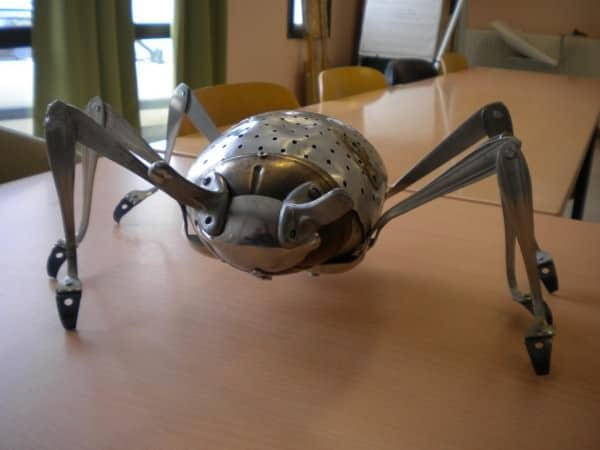 Kitchen Insect 3 • Recycled Art