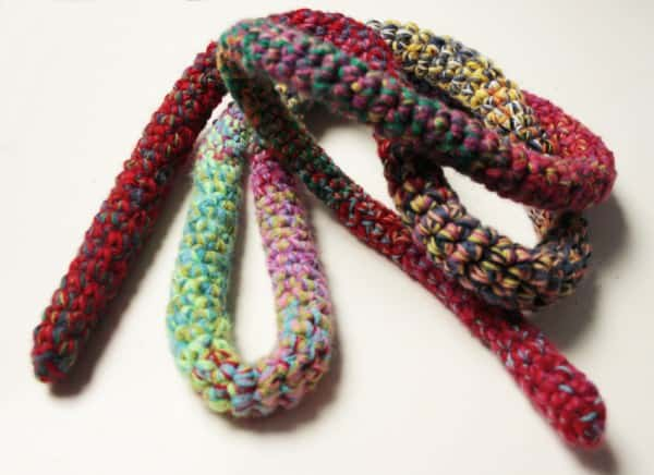 Skipping-rope with Leftover Yarn 2 • Clothing