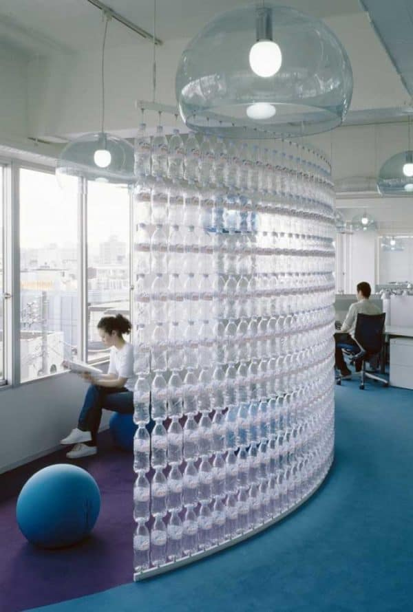 Water Bottles Wall 3 • Home Improvement