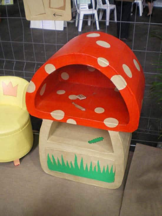 cardboard-mushroom