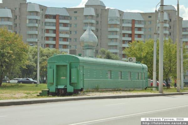 Old Railway Car Transformed Into Orthodox Church 4 • Home Improvement