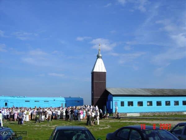 Old Railway Car Transformed Into Orthodox Church 8 • Home Improvement