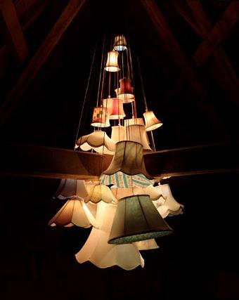 Cluster chandelier