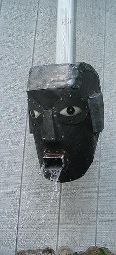 metal roofing head