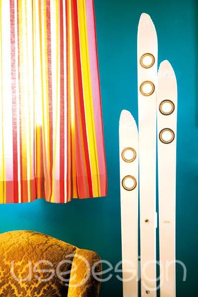 used design ski in lamps