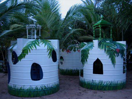 kids house watertanks
