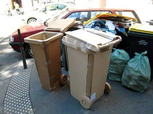 cardboard garbage4