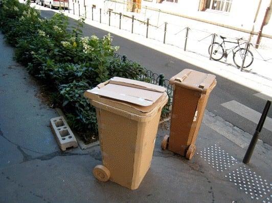 cardboard garbage5