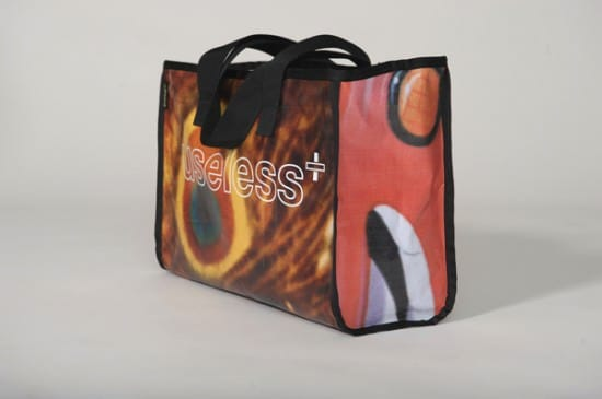 Useless Bags From Recycled Ad Bilboards Accessories