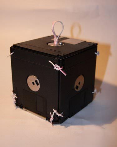 floppy disc box