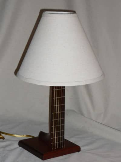 Guitar Neck Upcycled into Lamp 1 • Lamps & Lights