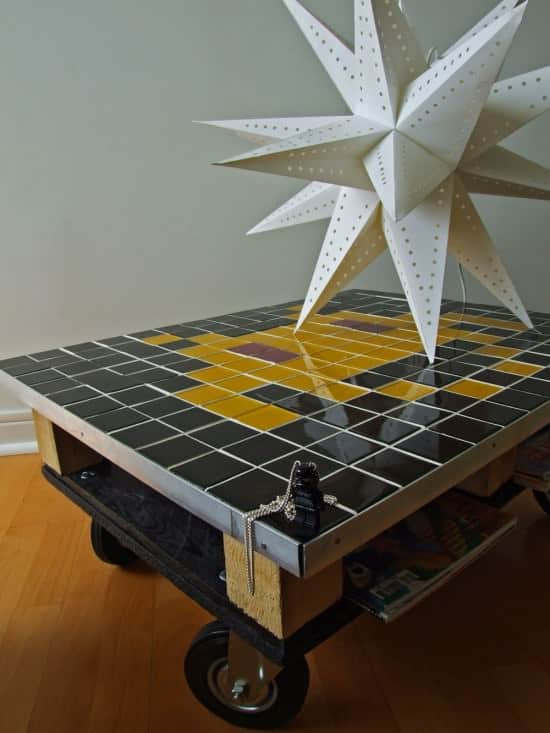 Space Invader Pallet Coffee Table Recycled Furniture Recycled Pallets